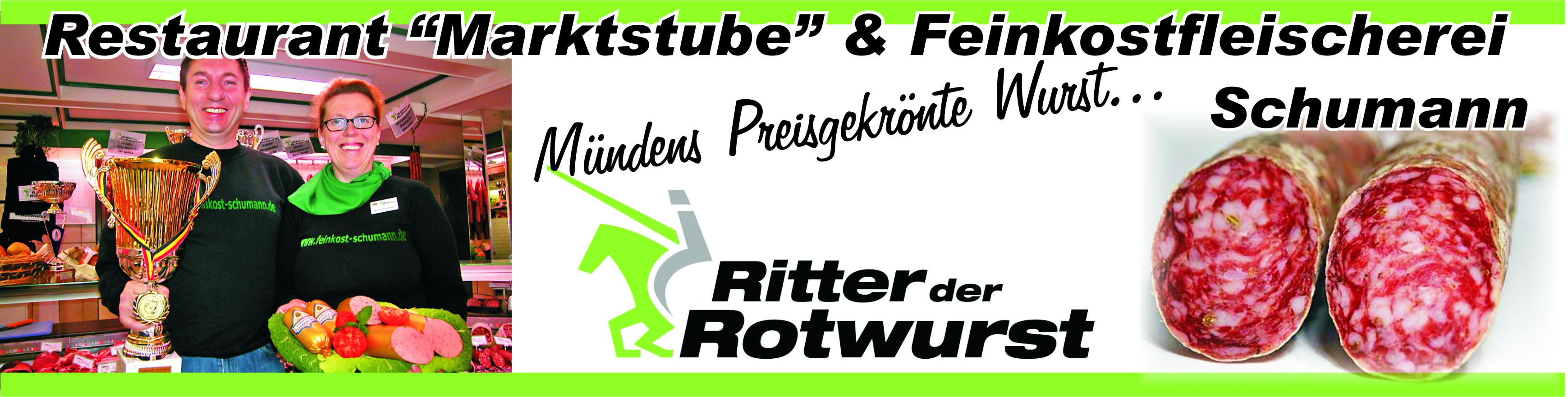 """Restaurant-""""Marktstube"""" & Feinkostfleischerei"""
